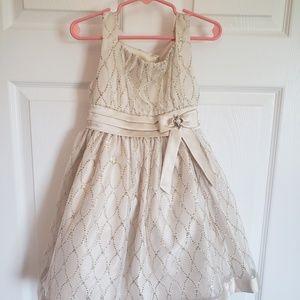 EUC Gold Girls Dress